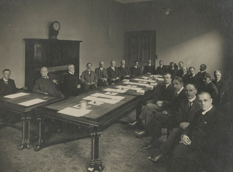 Professorial Board, University of Melbourne, 1919. University of Melbourne Photographs collection, 2017.0071.00625