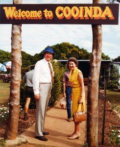 Malcolm Fraser and Tamie Fraser