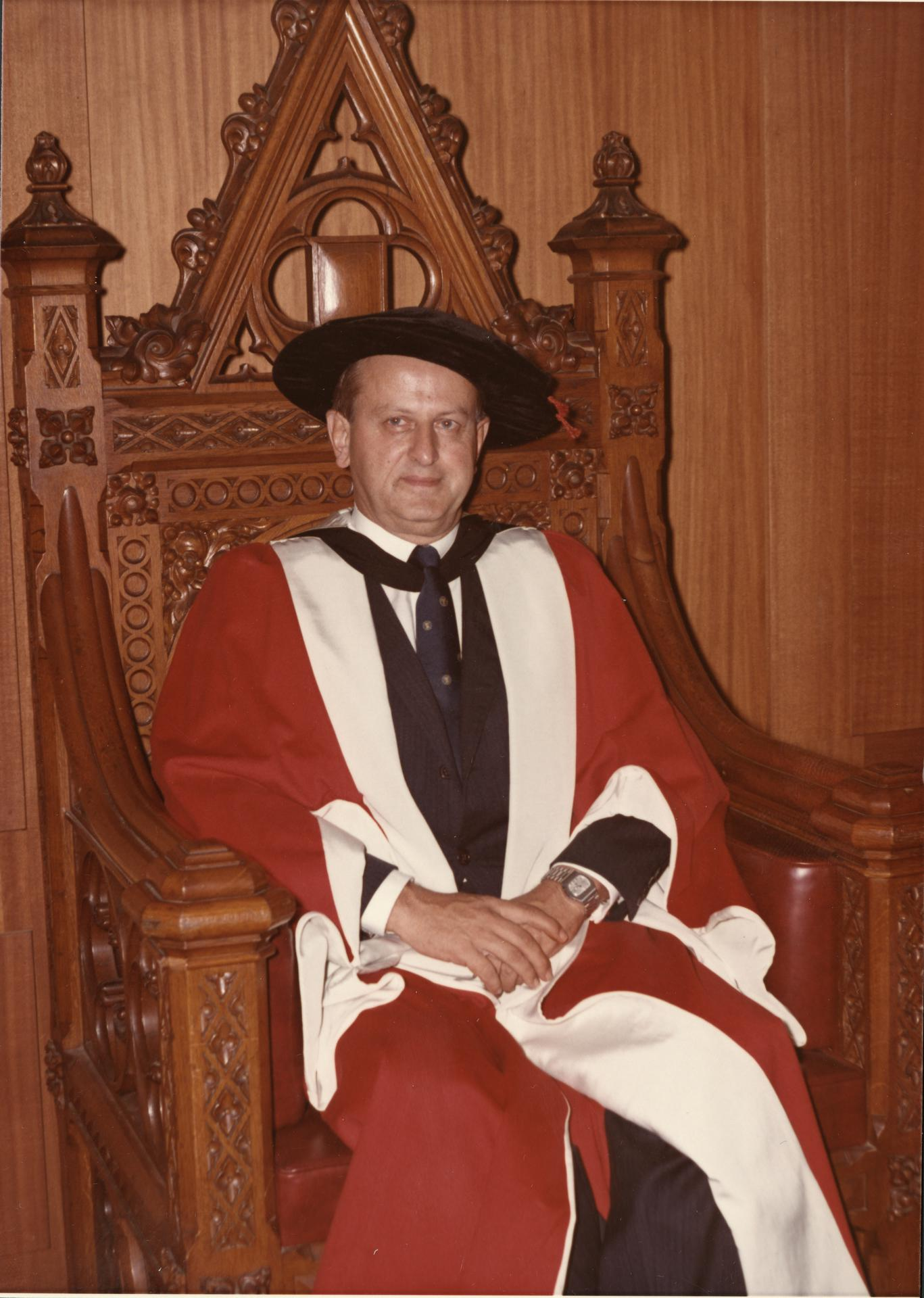 Professor F.J. Willett, 1973