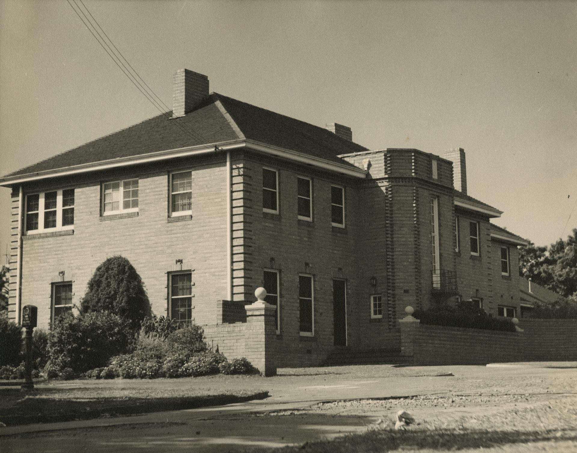Vice-Chancellor's residence, c1955