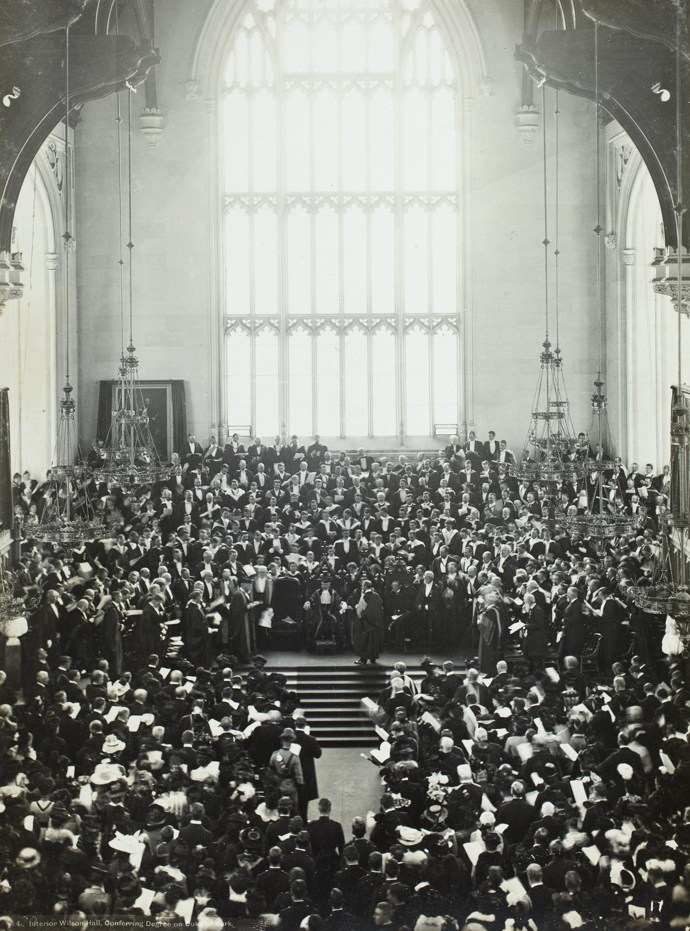 Degree conferring, 1901