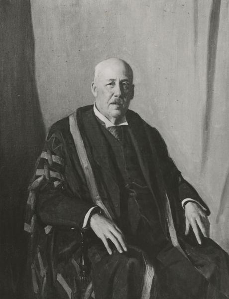 Portrait of James William Barrett, University of Melbourne, circa 1939, University of Melbourne Photographs, 2017.0071.00558
