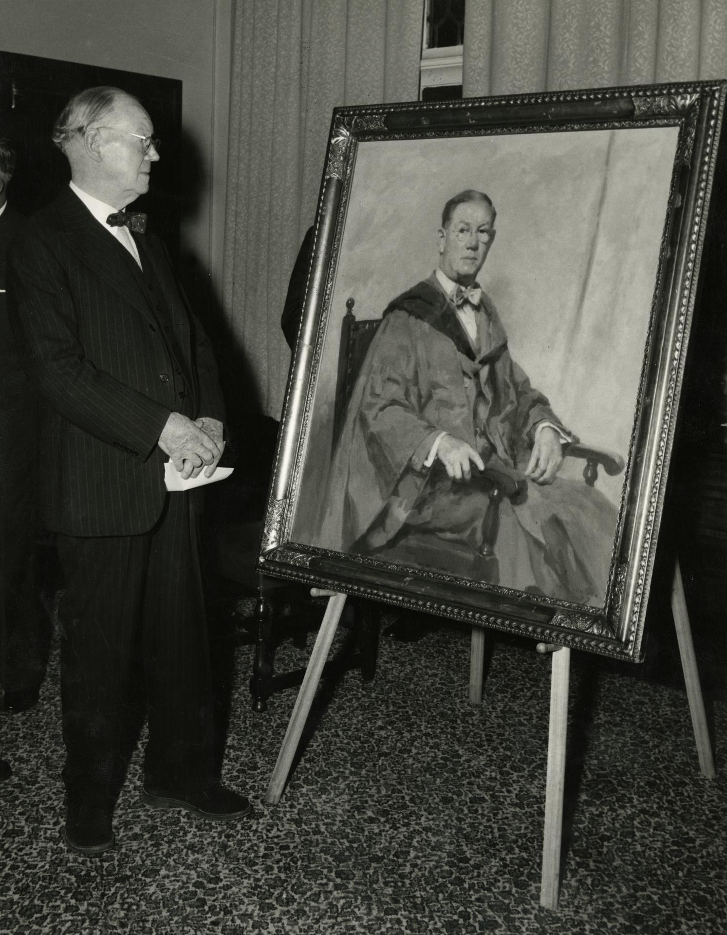 Dr Rowden White, 1959