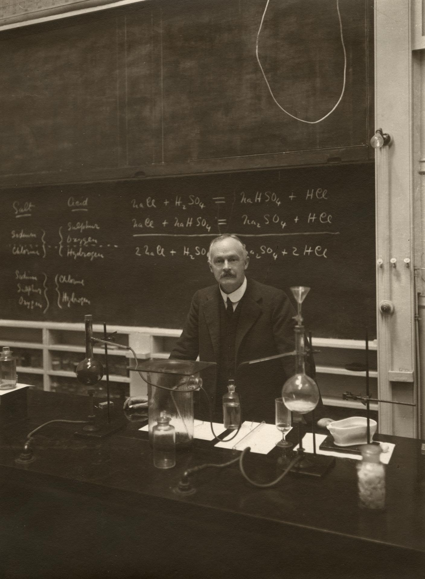 Professor David O. Masson, c1920s