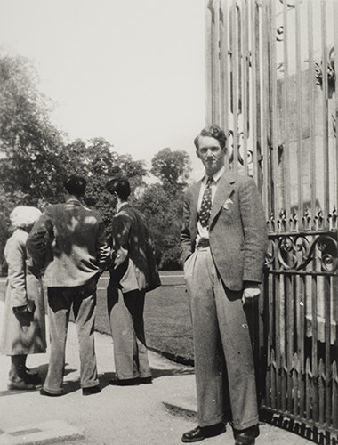 Malcolm Fraser during his time at Oxford