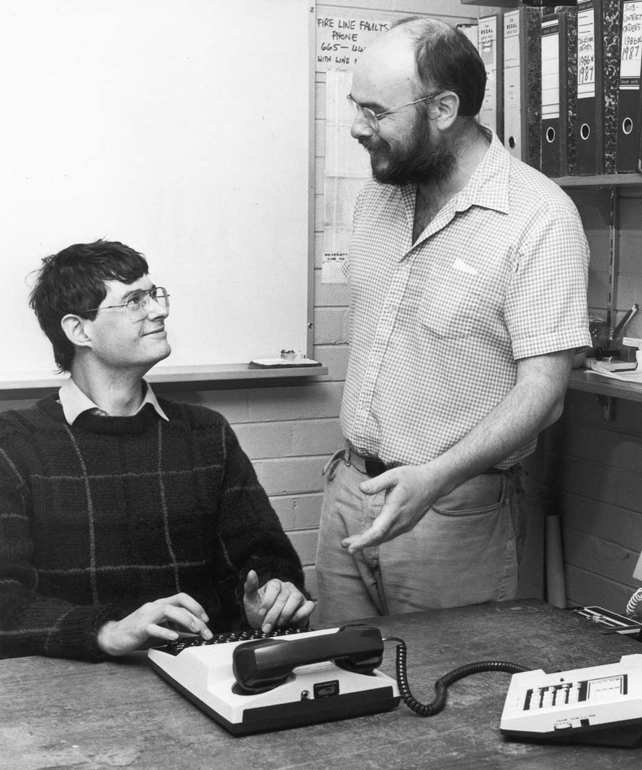Counsellor Jim Mitchell (standing)