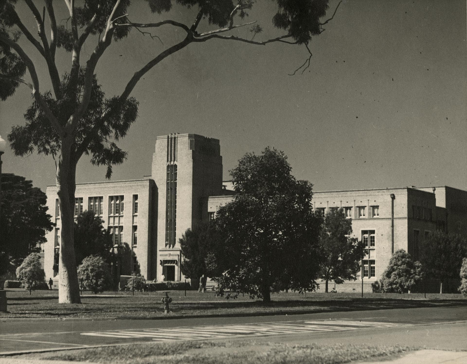 Chemistry building, c1955