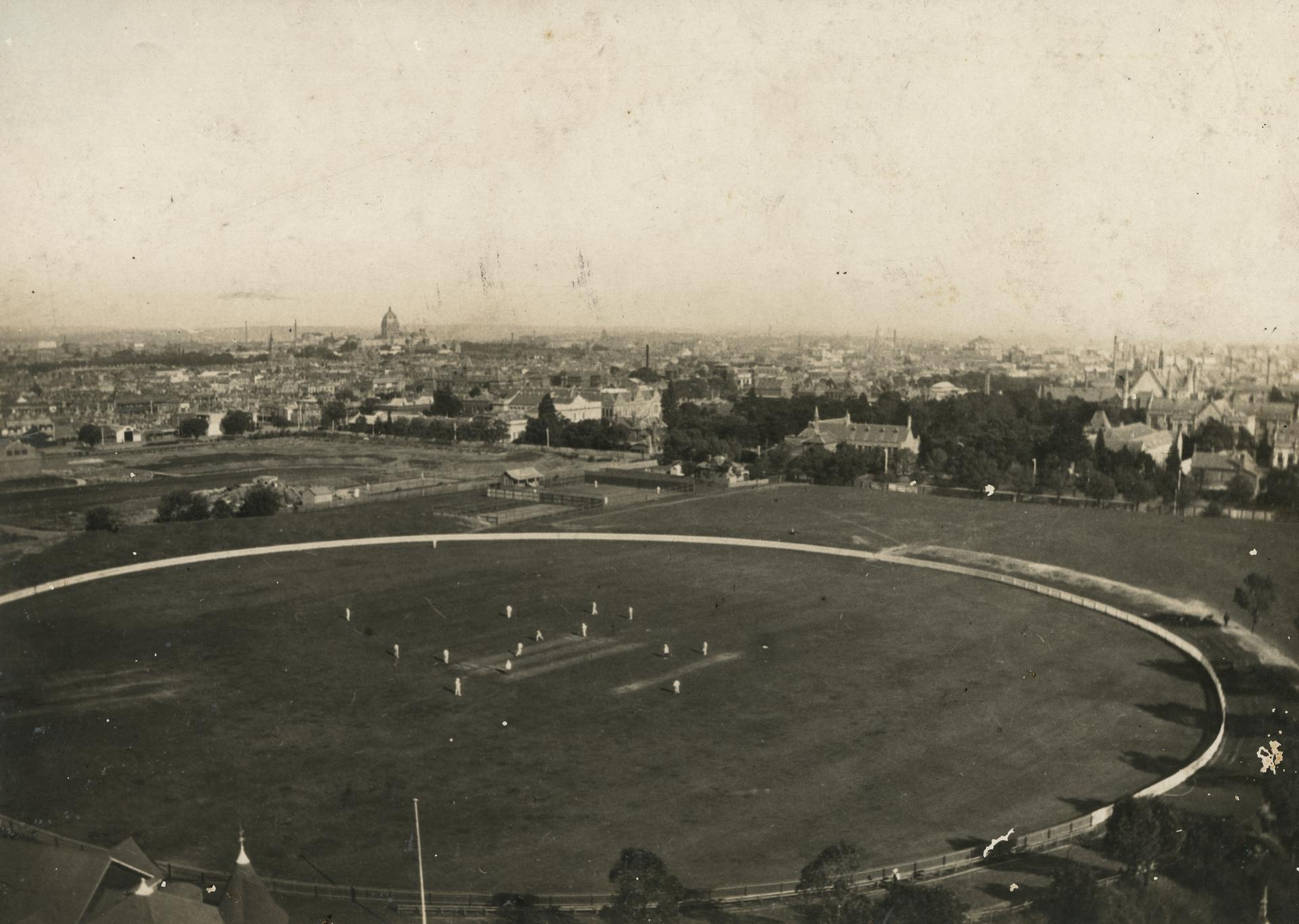 Oval looking south-east, 1919