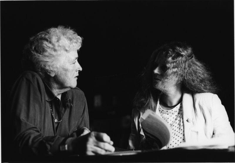 Betty Burstall and Liz Jones