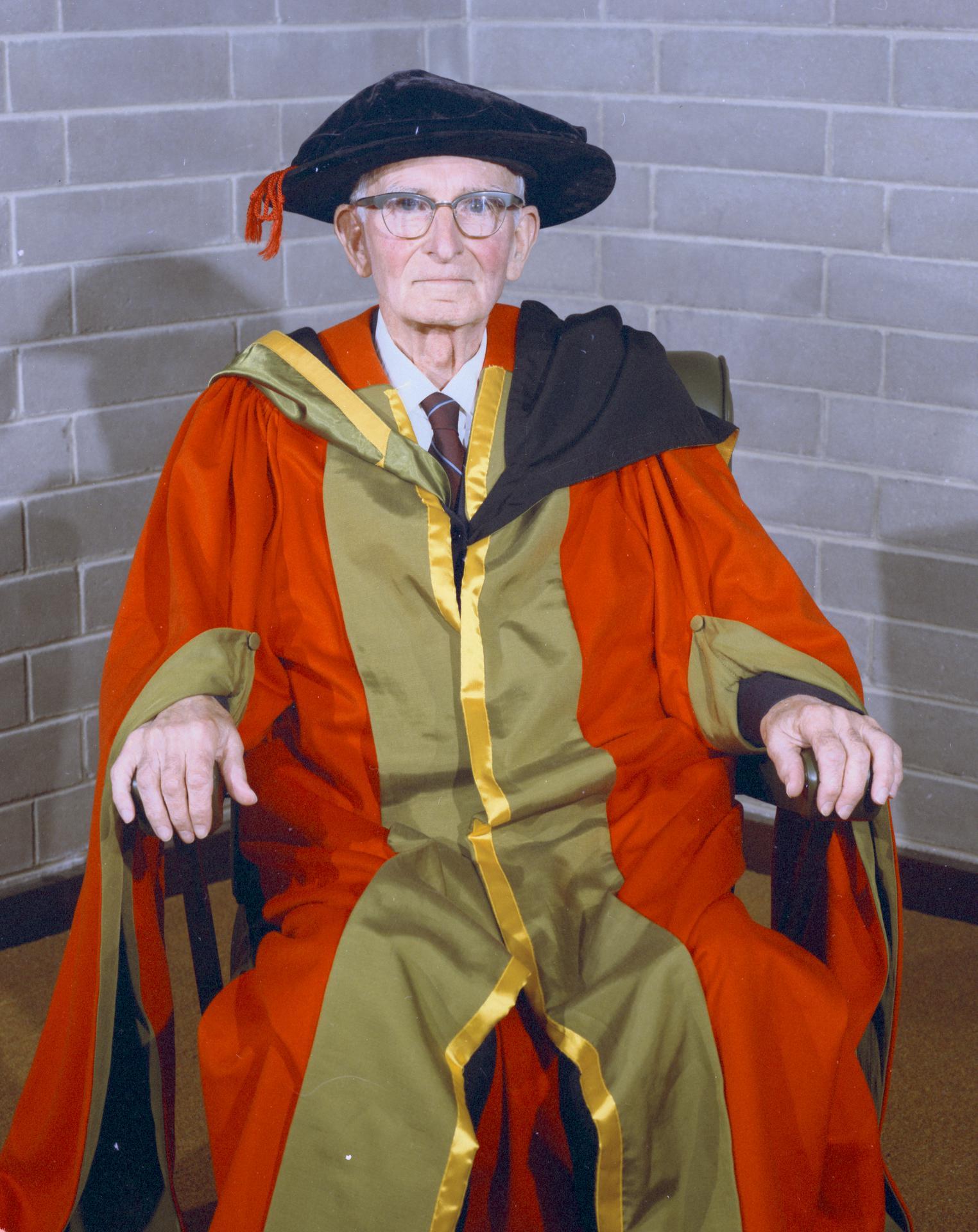 Professor J. Neill Greenwood, 1968