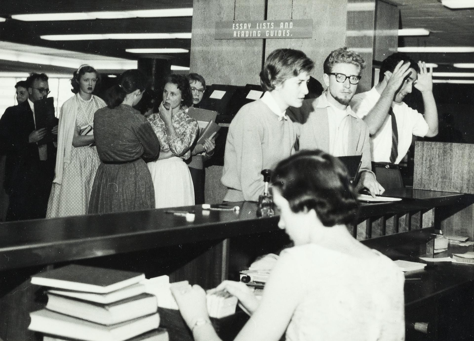 Interior, Baillieu Library, 1961