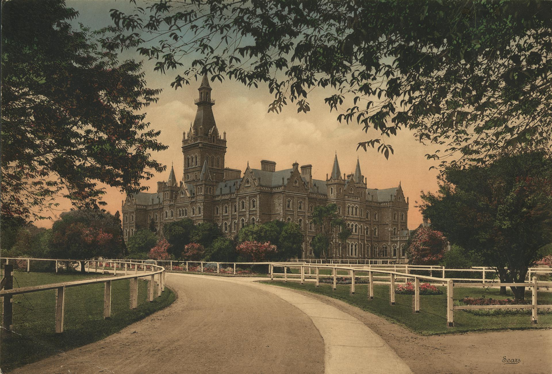 Ormond College.