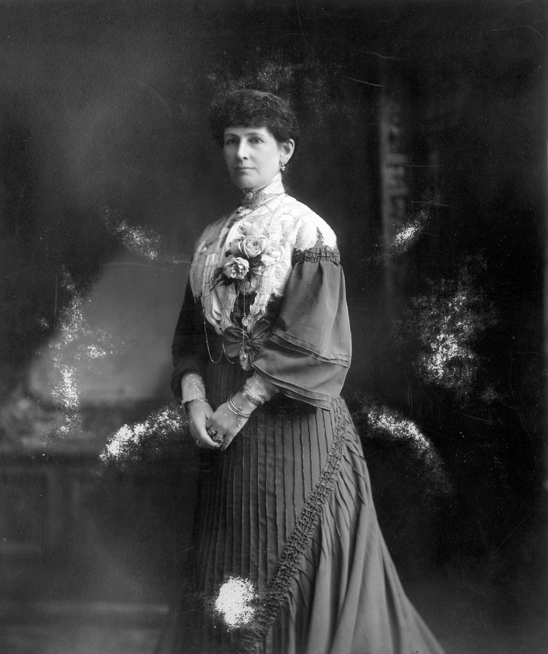 Lady Janet Clarke, the inaugural president c. 1904,  Australian National Women's League 1987.0141.00049