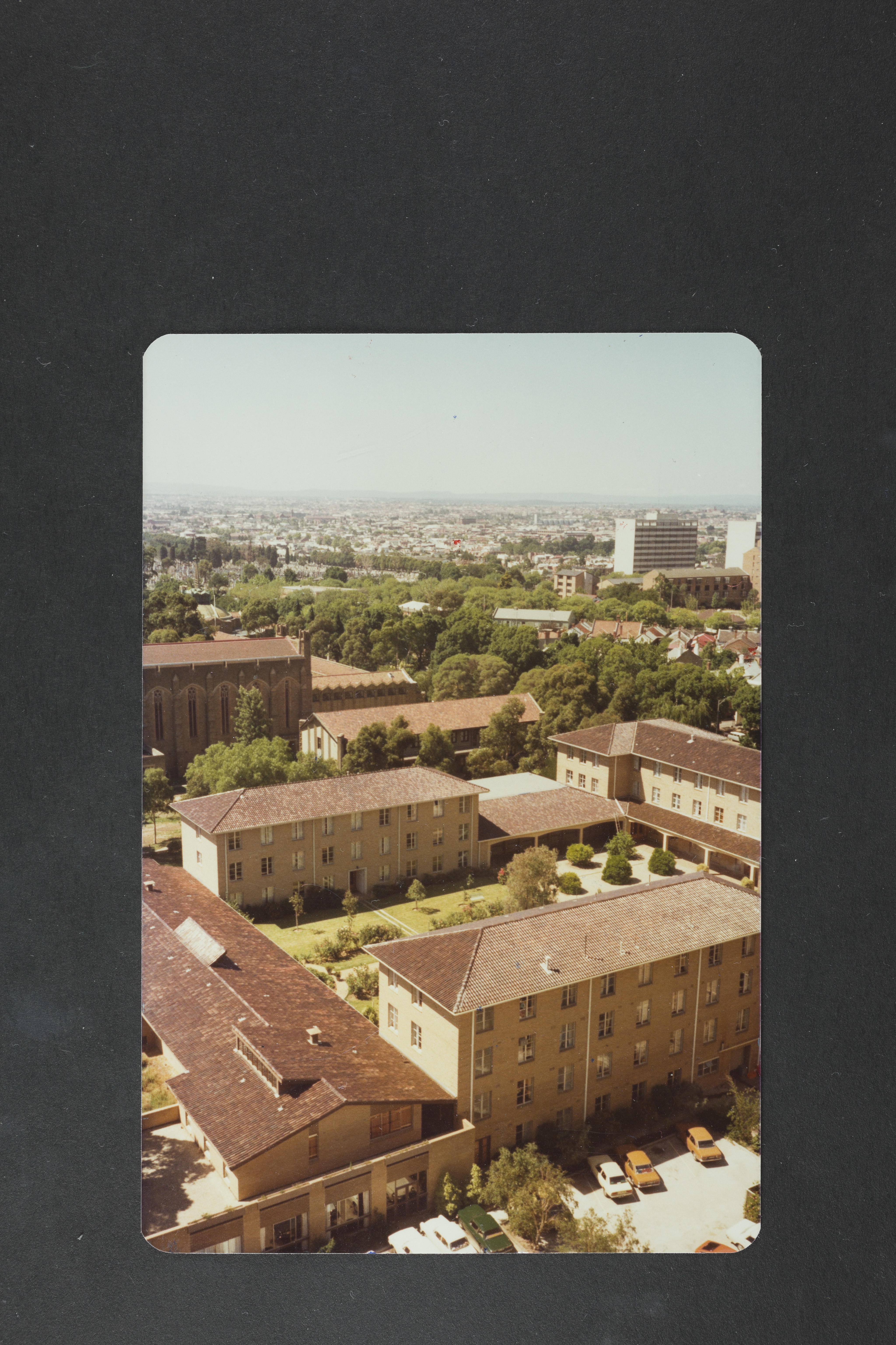 St Mary's College, with Newman College in background, 1978