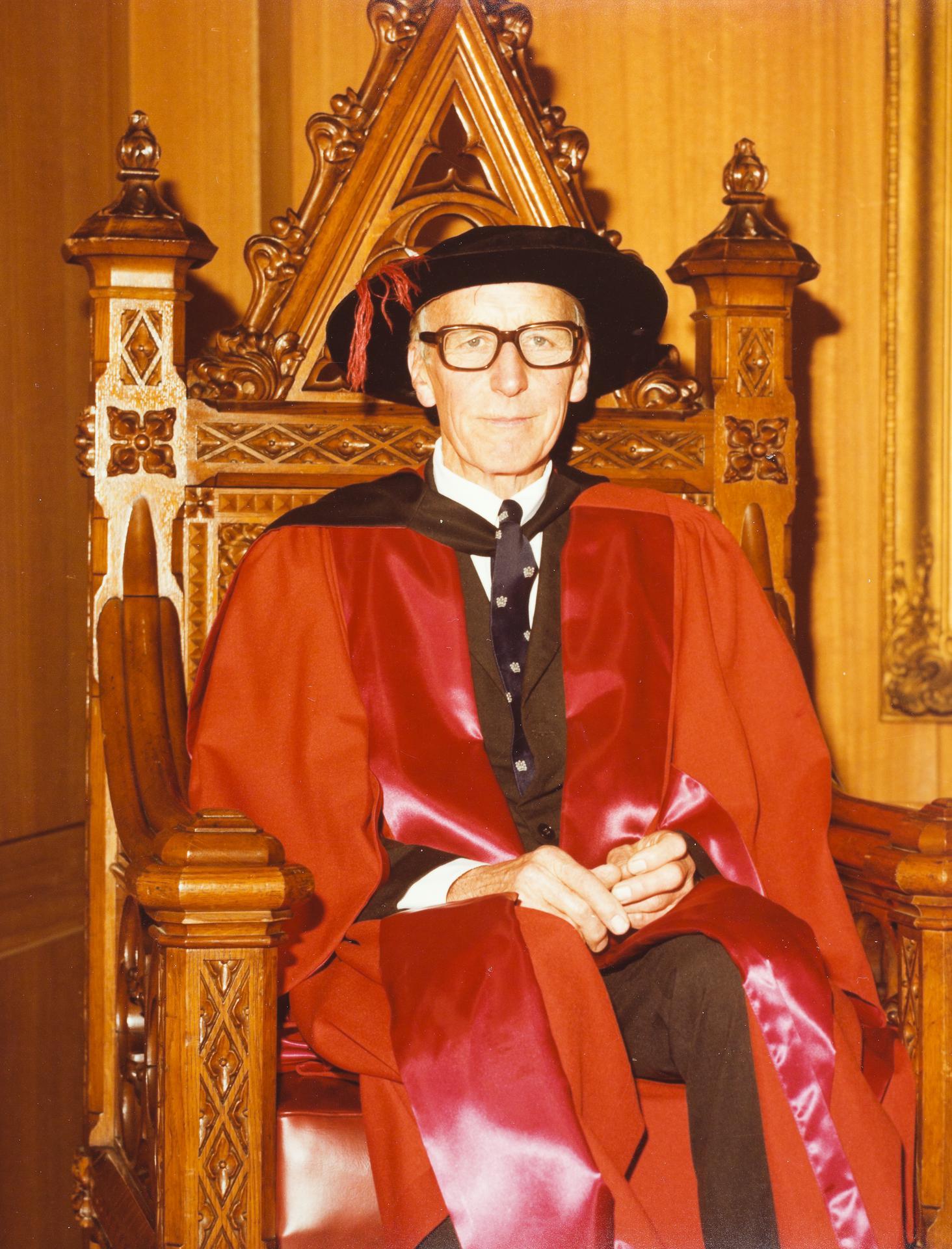 Professor Maurice Ewing, 1979