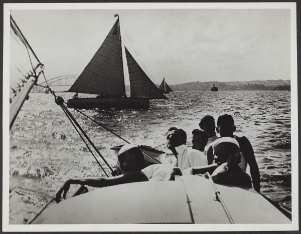 """Yachting Sydney Harbour"", 6 September 1934, Commercial Travellers' Association Administrative Records and Publications, 1979.0162.02432."