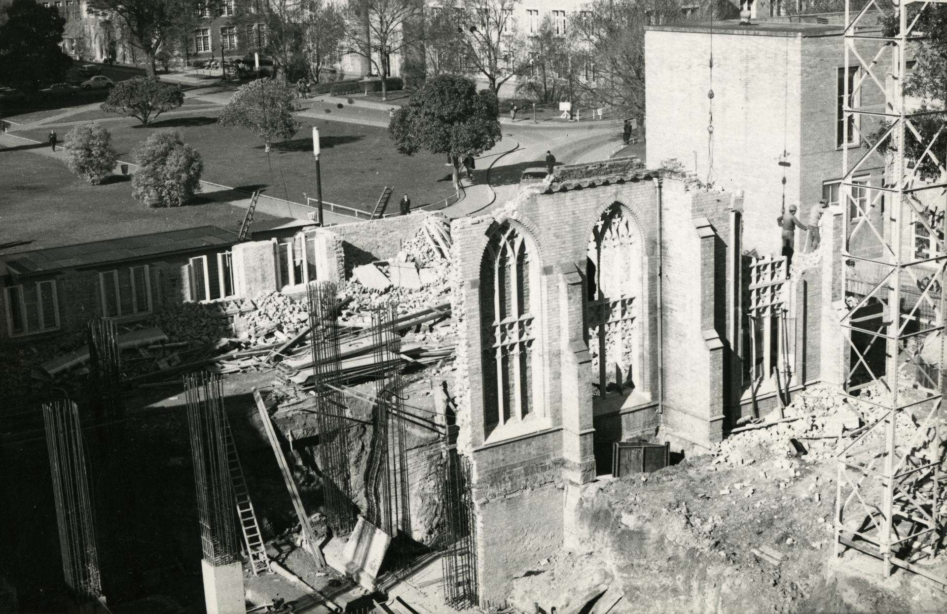 Rebuilding, Union House, c1968
