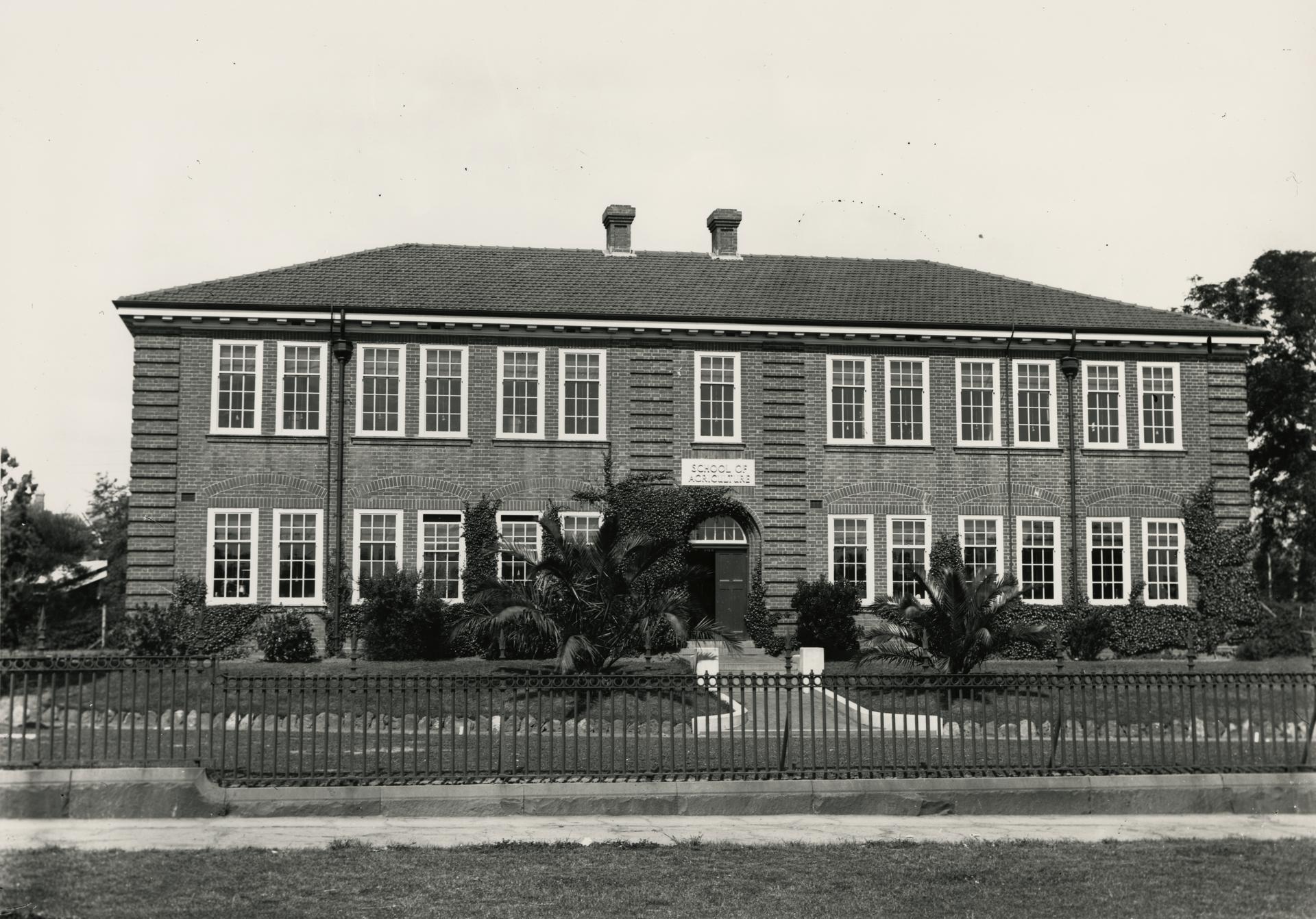 School of Agriculture, c1910