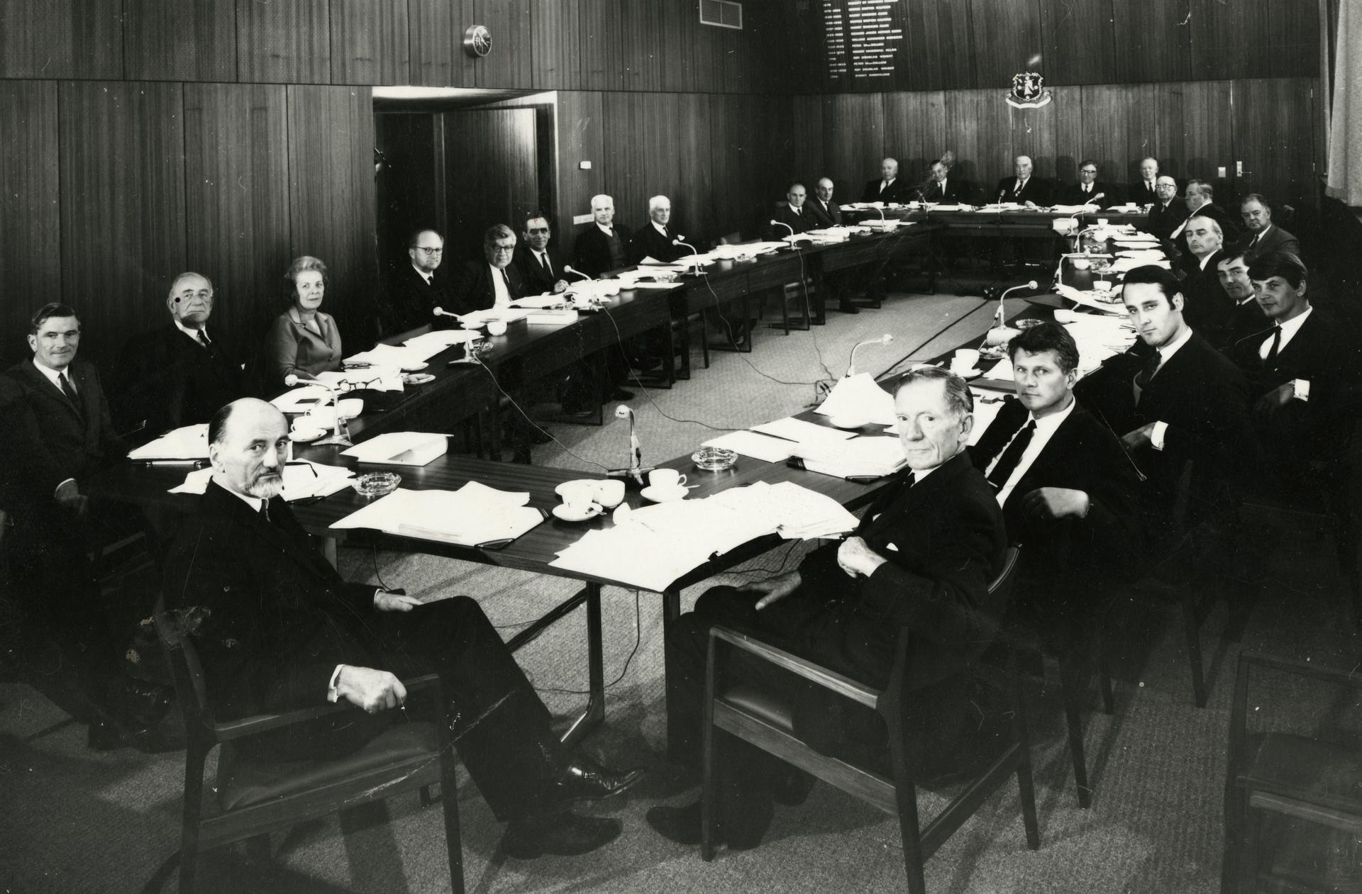 Council Meeting c1969