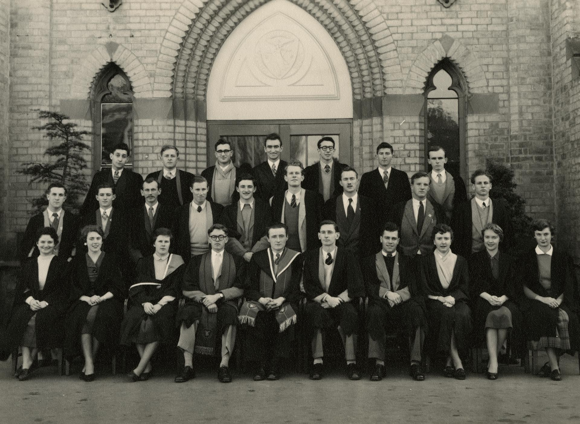 Students' Representative Council, 1953-54.