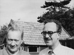 Jack Lindsay and Clem Christesen