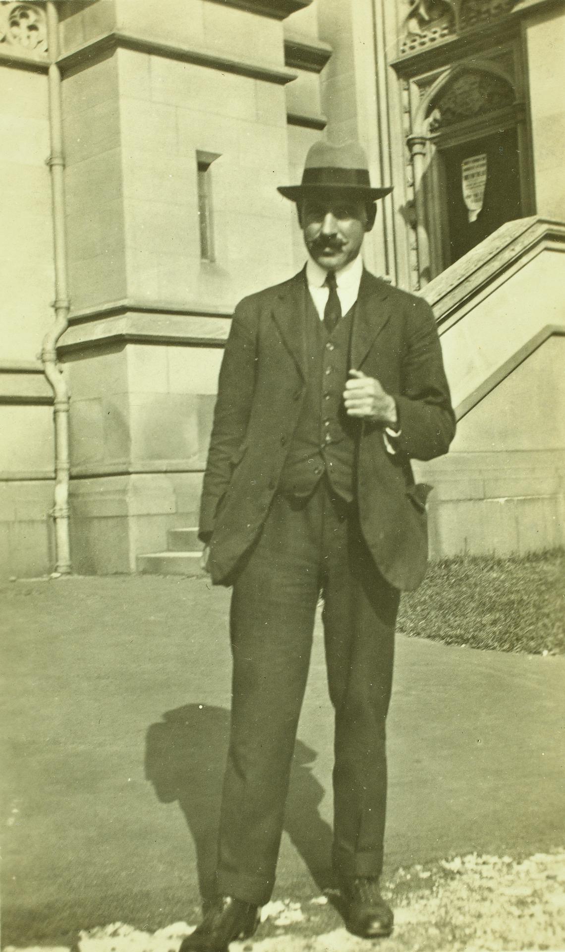 Prof Ernest W. Skeats