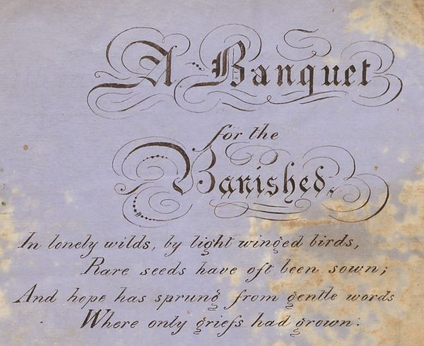 A Banquet for the Banished