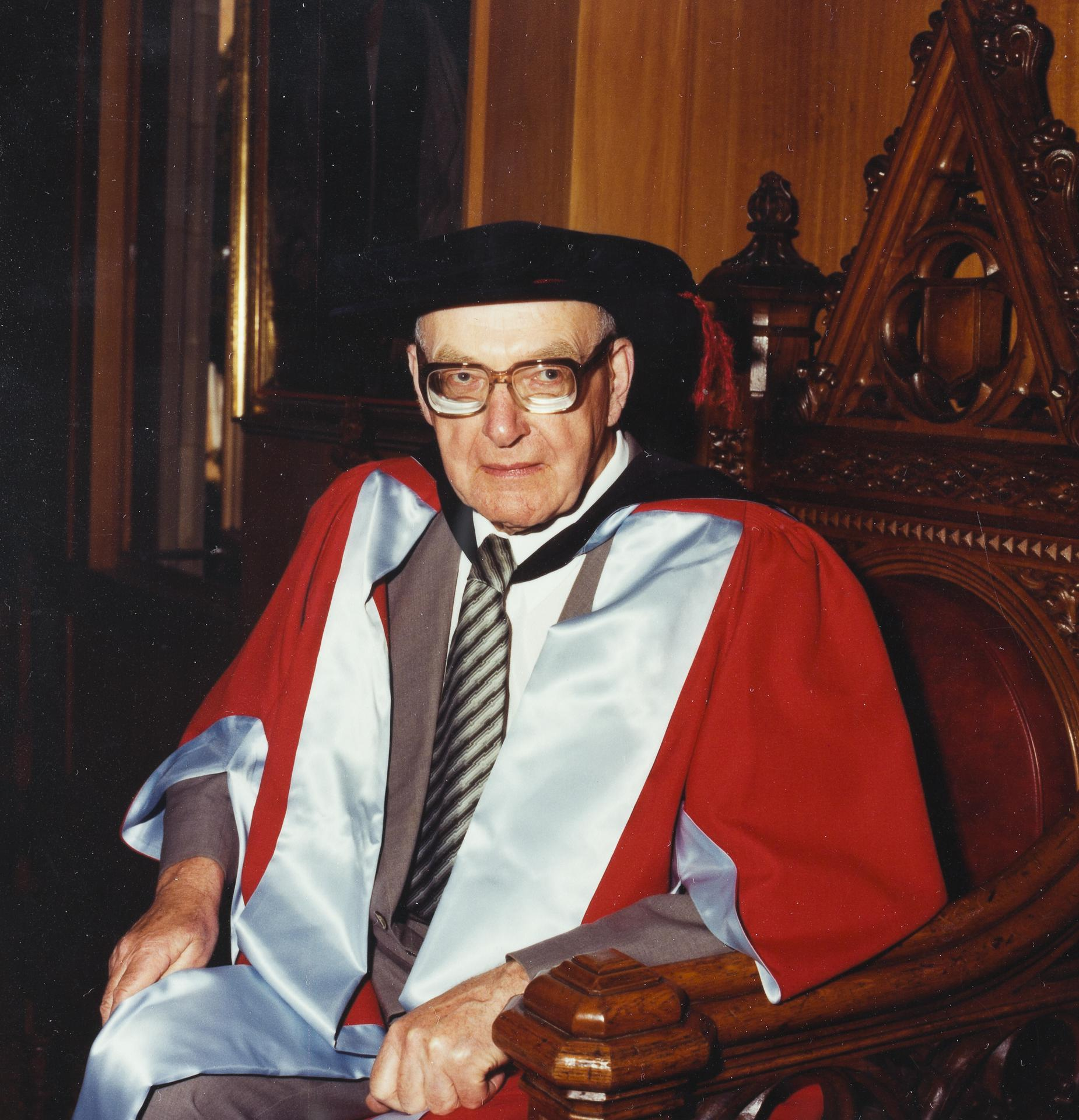 Professor Wilfred Prest, 1983