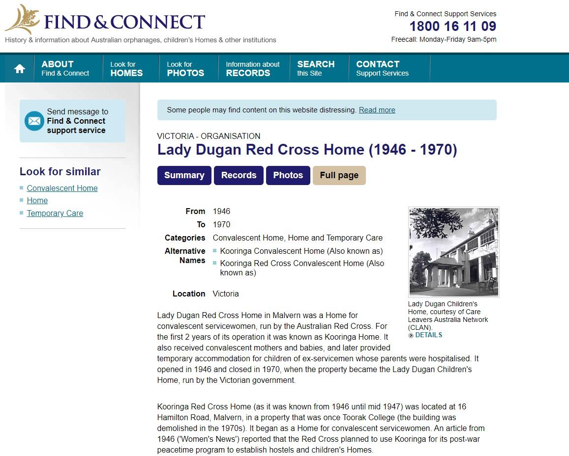 Lady Dugan RCH